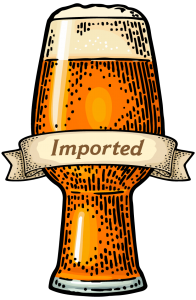 imported beer products